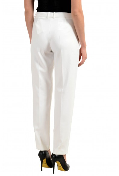 """Hugo Boss """"Tiluna5"""" Women's White Stretch Casual Pants : Picture 2"""