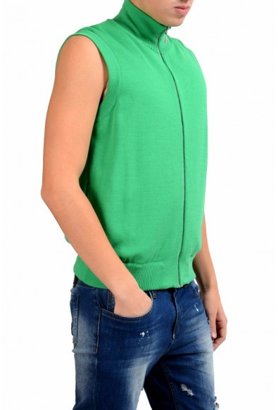 Malo Men's Green Full Zip Vest: Picture 2