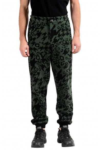 Versace Jeans Men's Graphic Fleece Track Sweat Pants