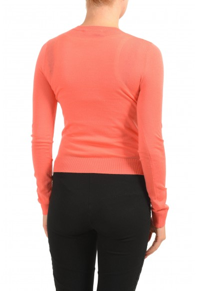 Dsquared2 Women's 100% Wool Peach Light Cardigan Sweater: Picture 2