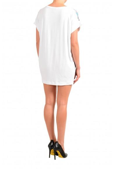 Just Cavalli Women's Multi-Color Floral Print Tunic Mini Dress : Picture 2