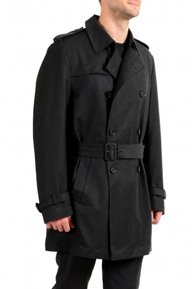 """Hugo Boss Men's """"Dan6_1"""" Wool Water Repellent Double Breasted Coat: Picture 2"""