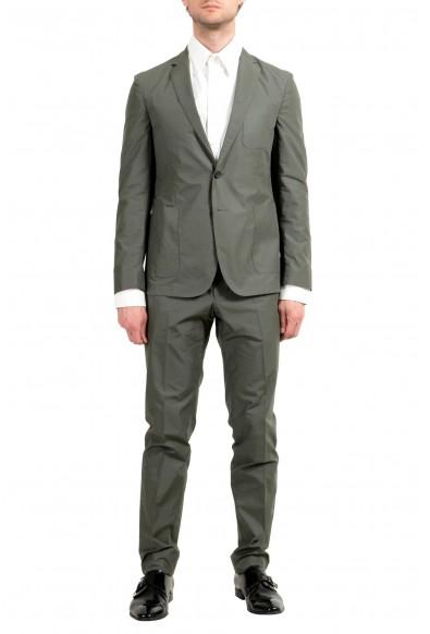 "Hugo Boss ""Nastven/Barns-T"" Men's Gray Two Button Suit"