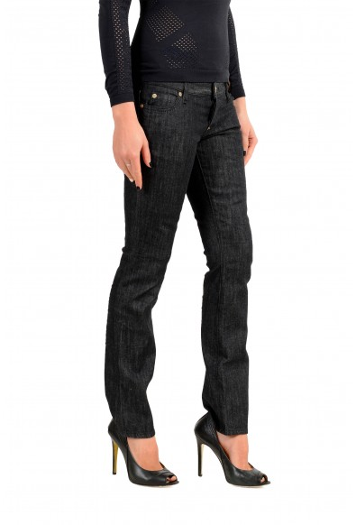 """Dsquared2 Women's """"Trombetta Jean"""" Off Black Jeans: Picture 2"""