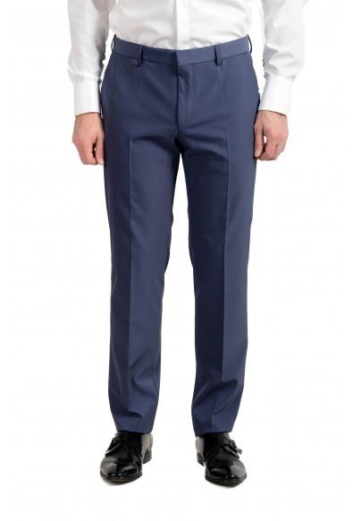 """Hugo Boss """"Namil1/Ben2"""" Men's Slim Blue Dress Pants"""