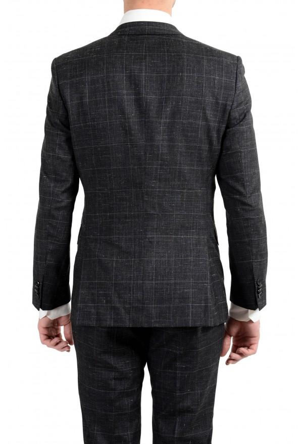 """Hugo Boss """"Huge6/Genius5"""" Men's Linen Silk Wool Slim Fit Gray Two Button Suit: Picture 11"""