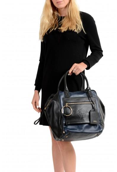 Versace 100% Leather Multi-Color Women's Handbag Shoulder Bag: Picture 2