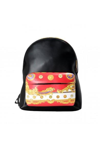 Versace Unisex Multi-Color Leather Backpack Bag