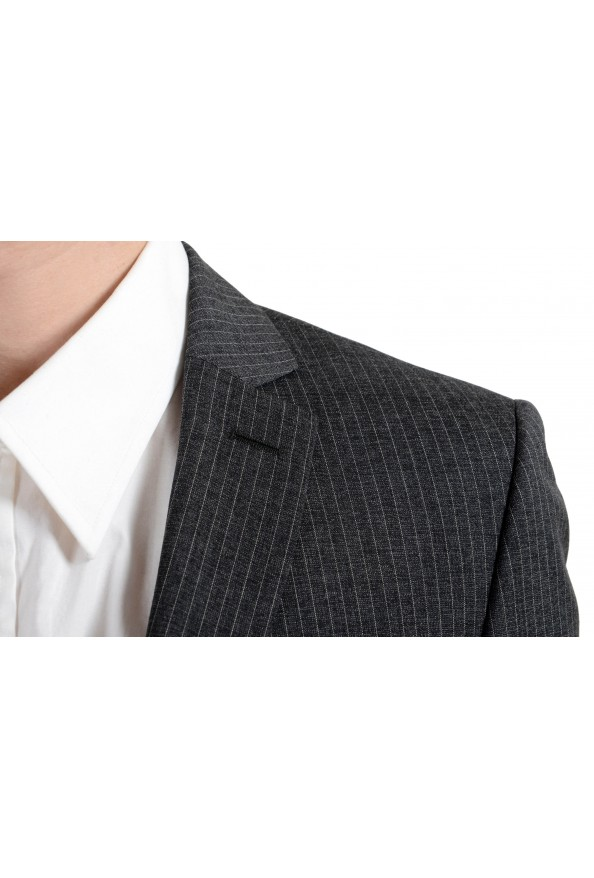 """Hugo Boss """"Reymond/Wented"""" Men's Silk Wool Striped Gray Slim Two Button Suit: Picture 6"""