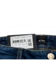 "Hugo Boss Men's ""Maine3"" Regular Fit Blue Wash Stretch Jeans: Picture 3"