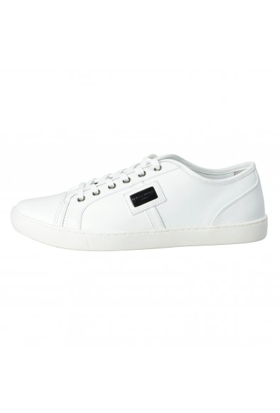 Dolce & Gabbana Men's White Sneakers Shoes: Picture 2