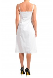 """Hugo Boss Women's """"Dewhy_WE"""" White Sleeveless Fit&Flare Dress: Picture 3"""