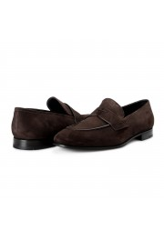 """Prada Men's """"2DB185"""" Brown Suede Leather Loafers Slip On Shoes: Picture 3"""