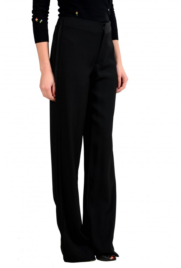Maison Margiela 4 Women's Black Wool Dress Pants: Picture 2
