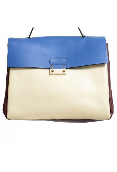Valentino Garavani Women's Multi-Color 100% Leather Satchel Handbag Shoulder Bag: Picture 2