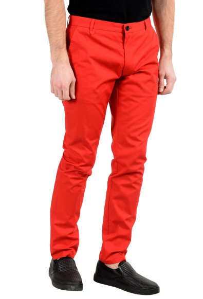 """Hugo Boss """"Heldor2"""" Men's Red Stretch Casual Pants: Picture 2"""