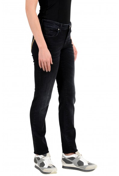 Versace Collection Embellished Women's Slim Fit Jeans: Picture 2