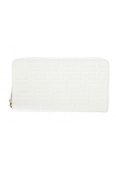 Versace 100% Leather White Women's Wallet
