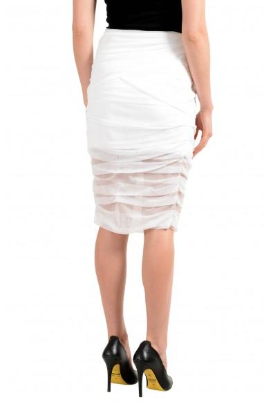 Versace Women's White Bodycon Skirt: Picture 2