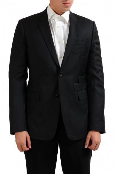 Christian Dior Men's 100% Wool Two Button Blazer Sport Coat