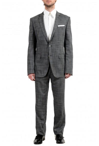 "Hugo Boss ""Hutson4/Gander1"" Wool Multi-Color Checkered Men's Suit"