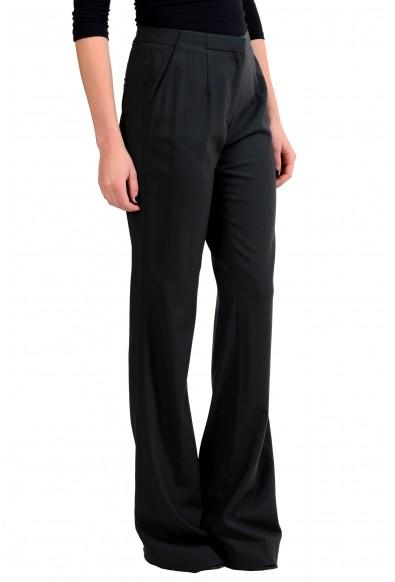 Viktor & Rolf Wool Black Women's Casual Pants: Picture 2