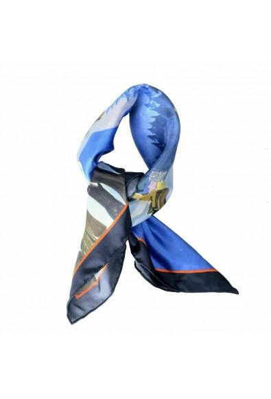 Moncler Women's Multi-Color 100% Silk Scarf: Picture 2
