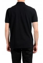 Versace Collection Men's Black Logo Short Sleeve Polo Shirt: Picture 6