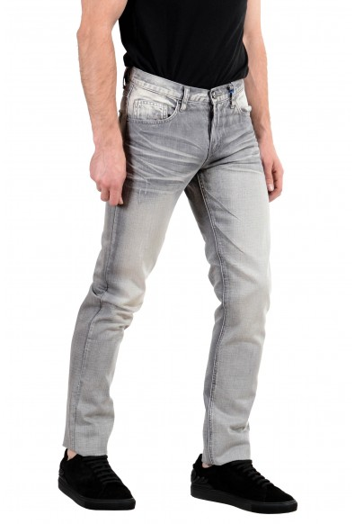 Versace Jeans Men's Gray Regular Fit Skinny Jeans: Picture 2