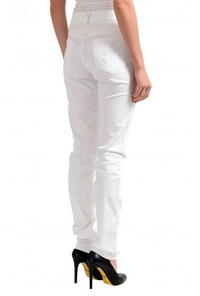 Versace Jeans White Women's Straight Leg Denim Jeans : Picture 2