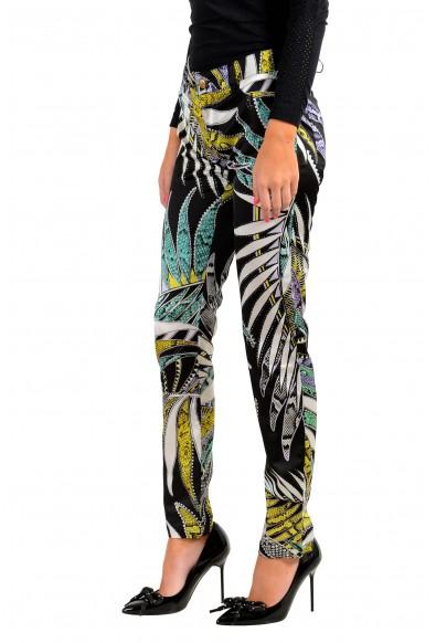 Just Cavalli Women's Multi-Color Floral Print Pants : Picture 2