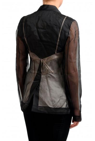 Maison Margiela 1 100% Silk Multi-Color Women's Blazer: Picture 2
