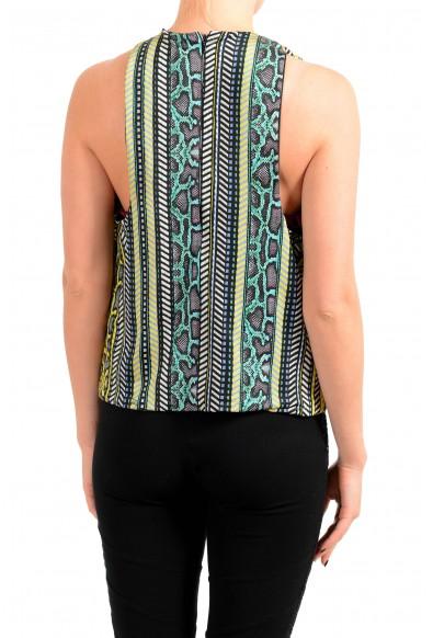 Just Cavalli Women's Multi-Color Blouse Top : Picture 2