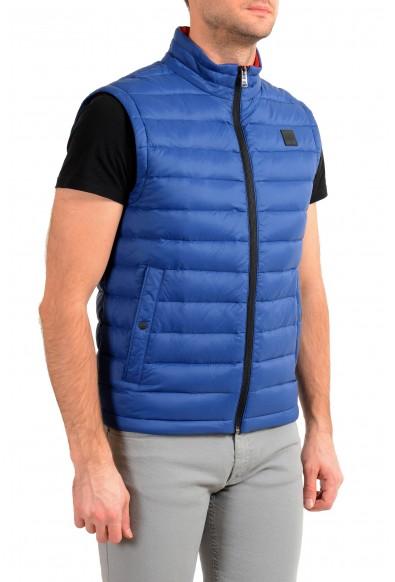"""Hugo Boss """"Chroma"""" Men's Royal Blue Down Full Zip Vest: Picture 2"""