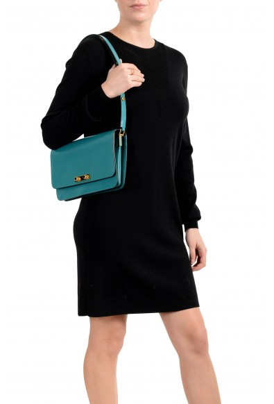 Marni Women's Green 100% Leather Small Shoulder Bag Handbag: Picture 2