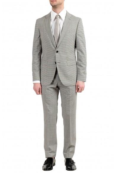 """Hugo Boss """"Novan5/Ben2"""" Men's 100% Wool Slim Two Button Suit"""