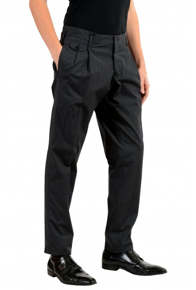 Dolce & Gabbana Men's Striped Pleated Dress Pants: Picture 2