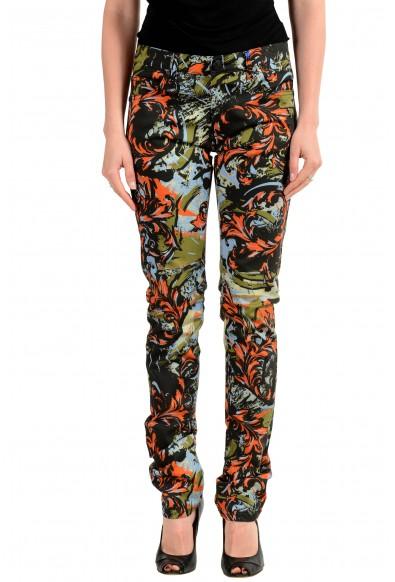 Versace Jeans Women's Multi-Color Five Pocket Jeans