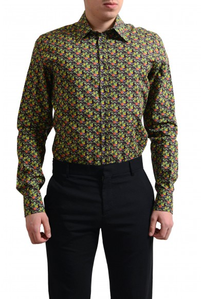 "Dolce & Gabbana ""Gold"" Men's Multi-Color Button Down Dress Shirt"