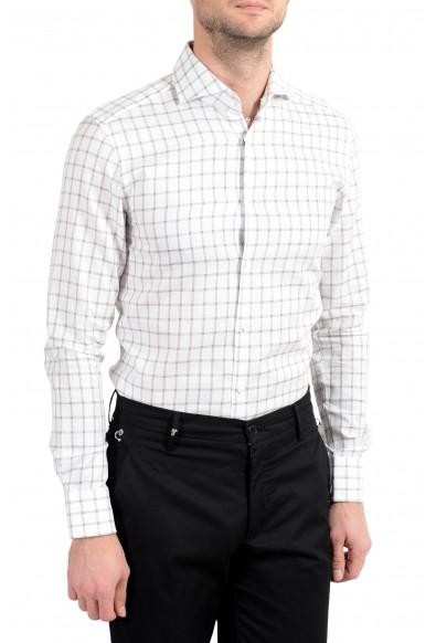 "Hugo Boss ""T-Christo"" Men's Slim Plaid Long Sleeve Dress Shirt: Picture 2"
