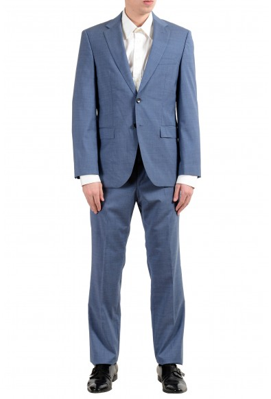 "Hugo Boss ""Phoenix/Madisen"" Men's 100% Wool Blue Comfort Fit Two Button Suit"