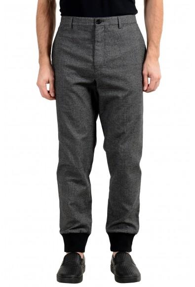 Burberry Men's Wool Gray Casual Pants