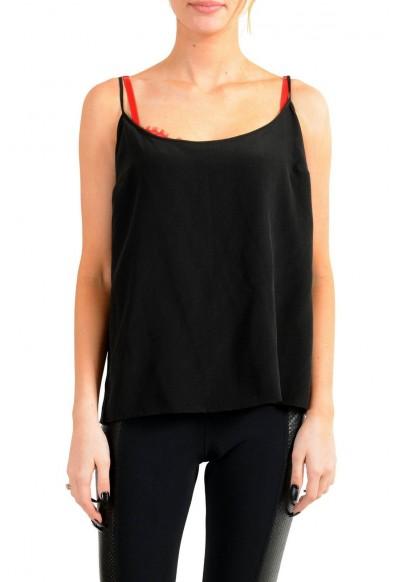Versace Women's Black 100% Silk Blouse Top