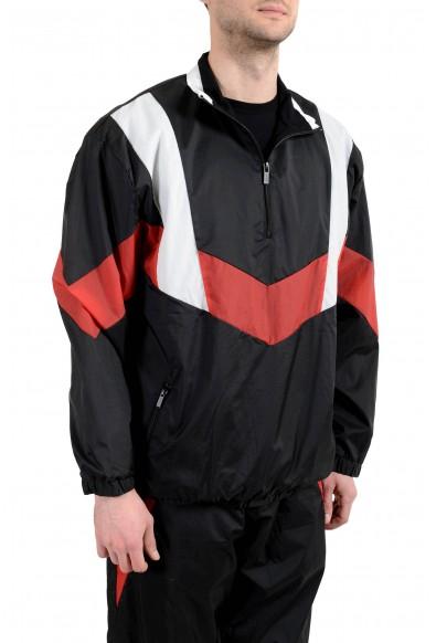 """Hugo Boss Men's """"Droyes"""" Multi-Color 1/3 Zip Up Windbreaker Jacket: Picture 2"""