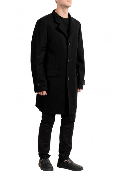"Hugo Boss ""Sintrax1"" Men's Wool Black Four Button Coat : Picture 2"