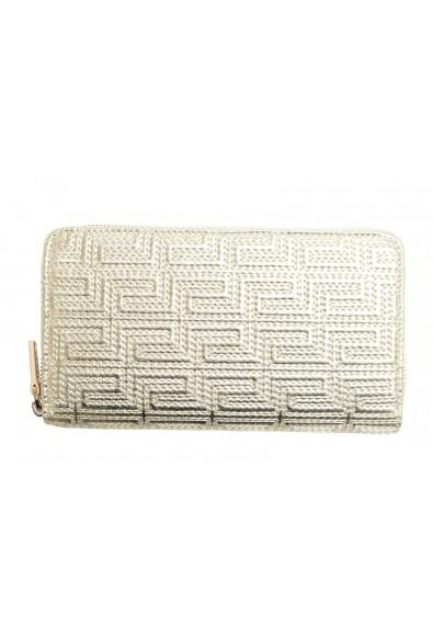 Versace 100% Leather Gold Women's Wallet