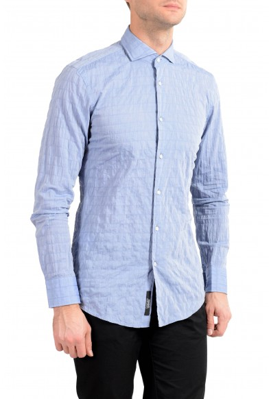 "Hugo Boss Men's ""Jason"" Blue Slim Fit Long Sleeve Dress Shirt"