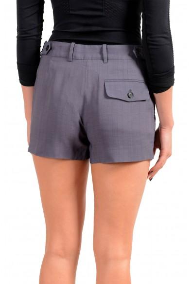 Maison Margiela Women's Purplish Gray Mini Shorts: Picture 2