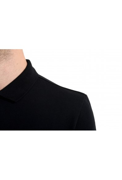 Versace Collection Men's Black Short Sleeve Polo Shirt: Picture 2