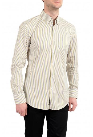 "Hugo Boss ""Jans"" Men's Slim Striped Long Sleeve Dress Shirt"